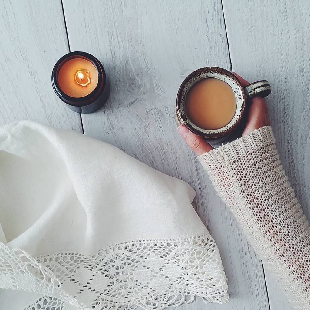 Natural Soy Candle with Essential Oils from The Smallest Light