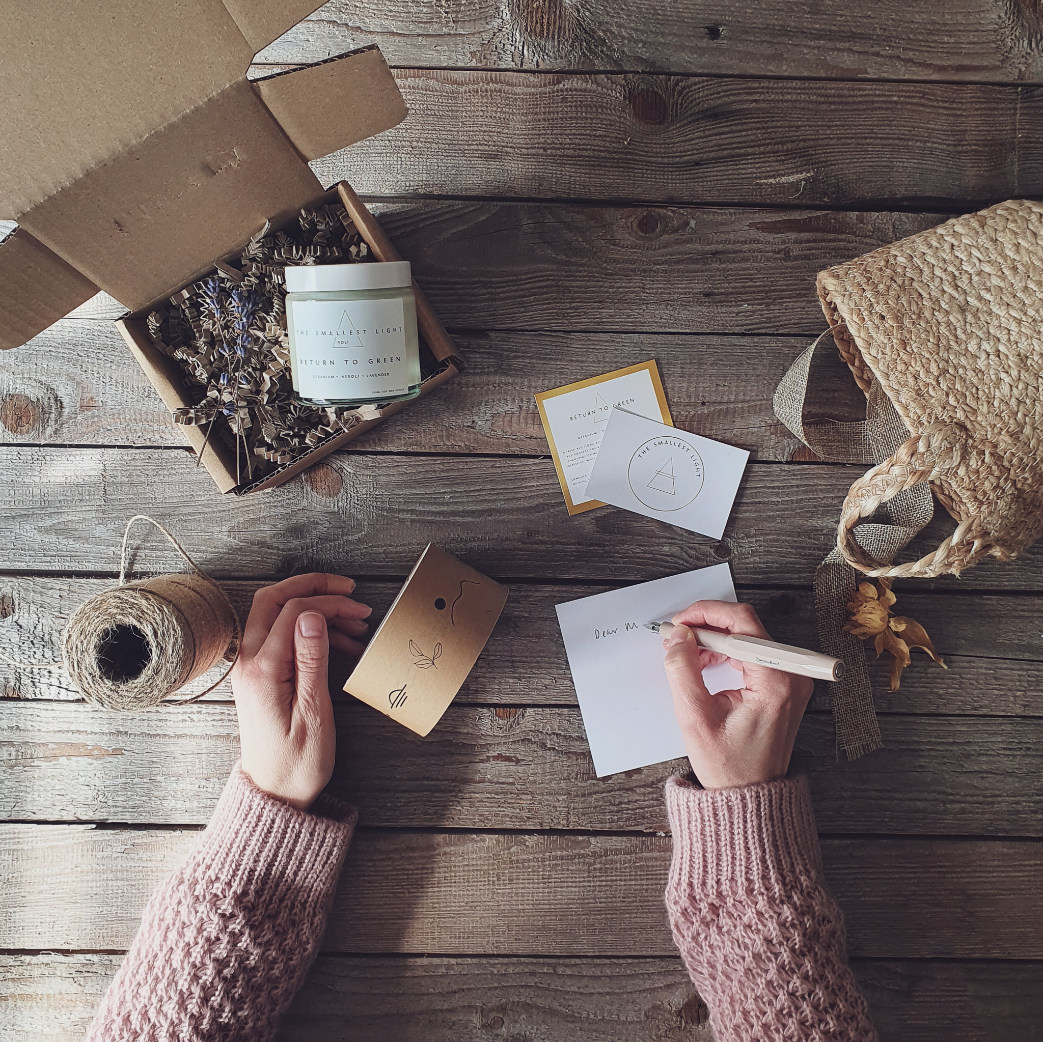 Candle Subscription Package from The Smallest Light