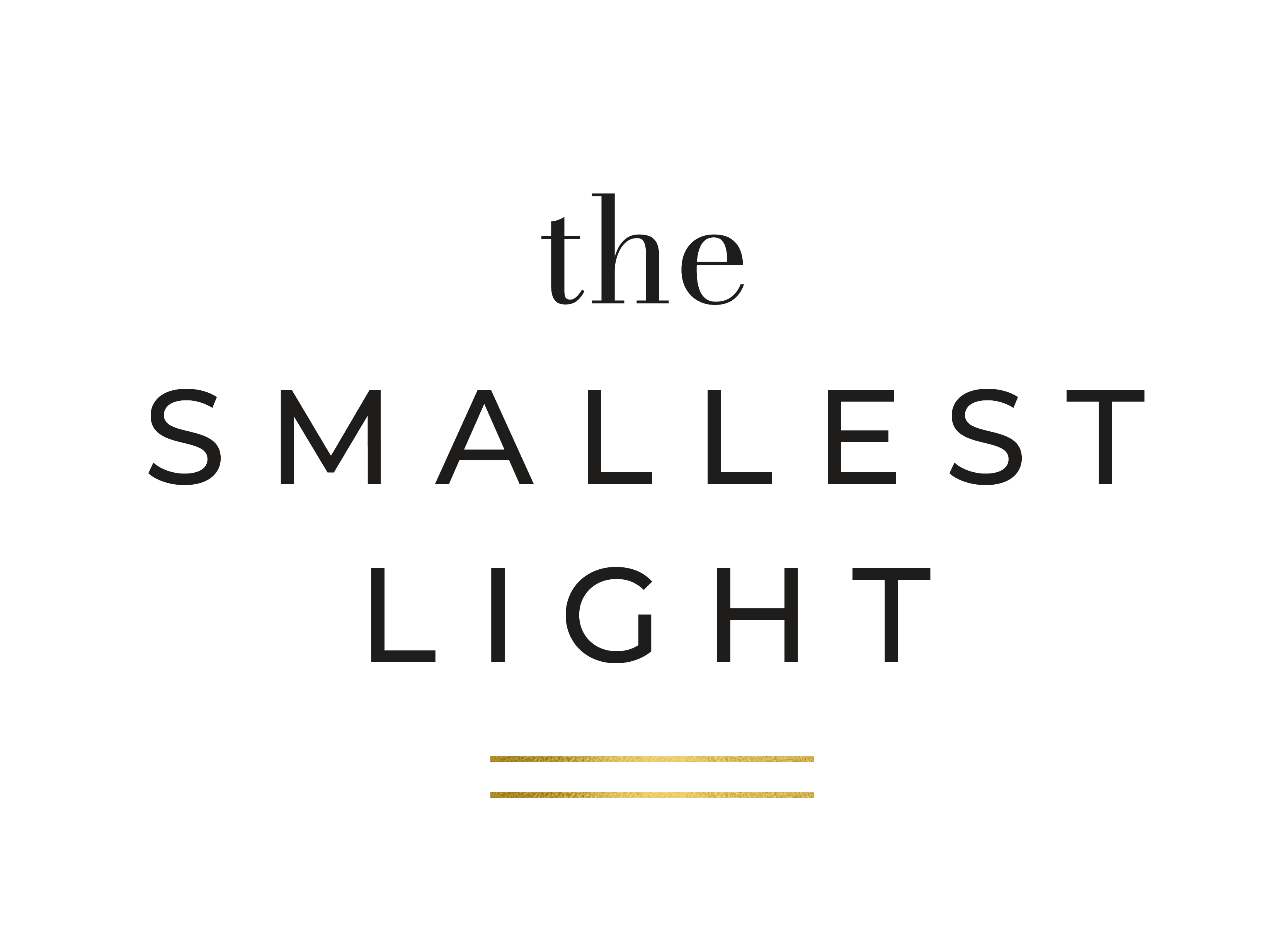 The Smallest Light. Natural Candles. Seasonal Living.