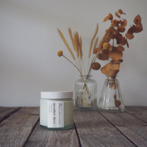 Natural Soy Candles for Summer from The Smallest Light