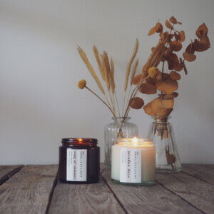 Soy Candles with Essential Oils by The Smallest Light