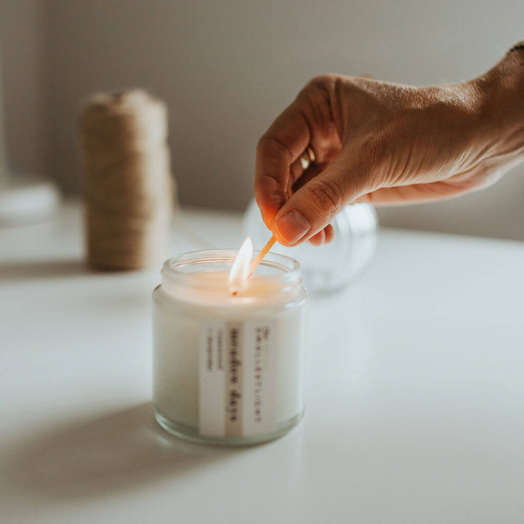 Natural Candles from The Smallest Light