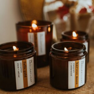 Autumn Soy Candle Duo