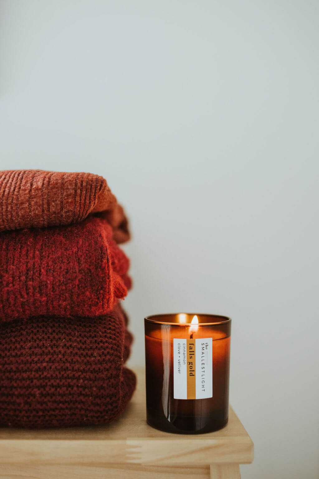 Natural Soy Candle for the Autumn Season